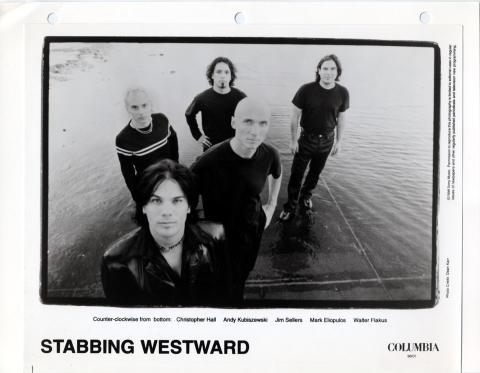 Stabbing Westward Promo Print