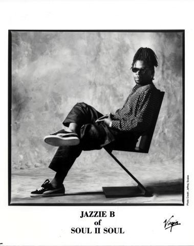 Jazzie B Promo Print
