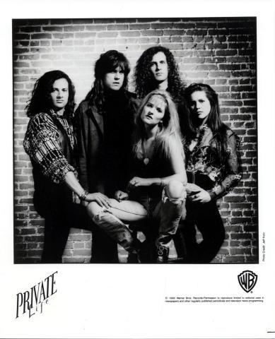 Private Life Promo Print