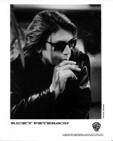 Ricky Peterson Promo Print