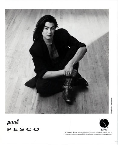 Paul Pesco Promo Print