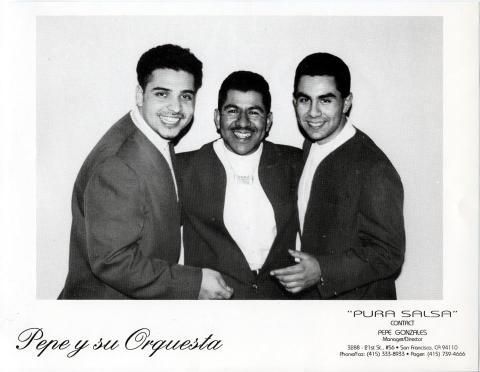 Pepe y su Orquesta Promo Print