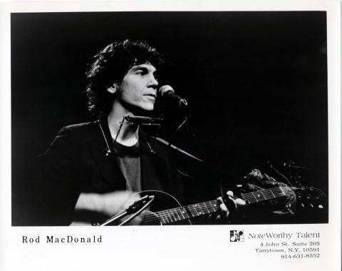 Rod MacDonald Promo Print