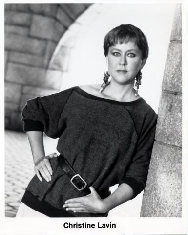 Christine Lavin Promo Print