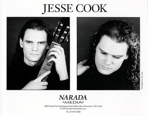 Jesse Cook Promo Print