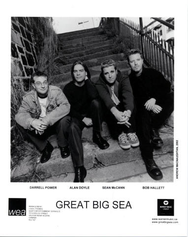 Great Big Sea Promo Print