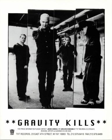Gravity Kills Promo Print
