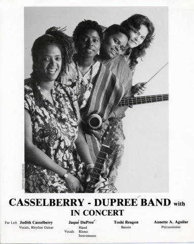 Casselberry-Dupree Band Promo Print