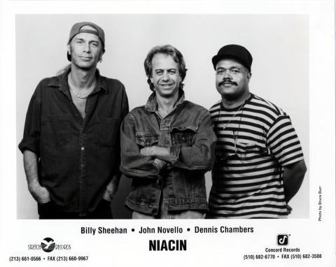 Niacin Promo Print