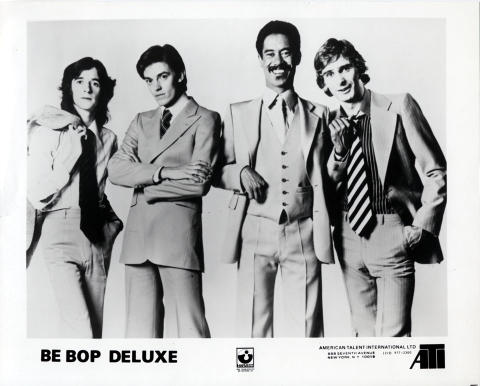 Be Bop Deluxe Promo Print