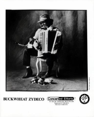 Buckwheat Zydeco Promo Print