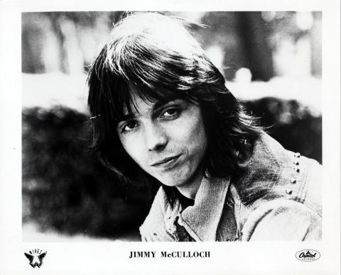 Jimmy McCulloch Promo Print