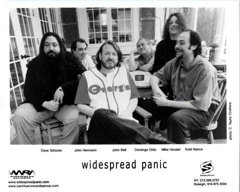Widespread Panic Promo Print