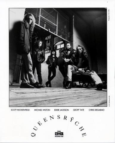 Queensryche Promo Print