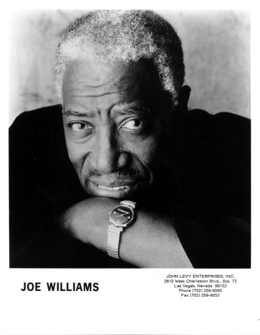Joe Williams Promo Print