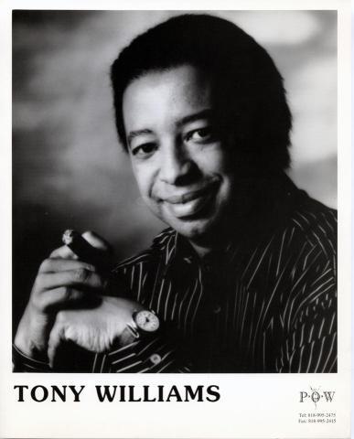 Tony Williams Promo Print