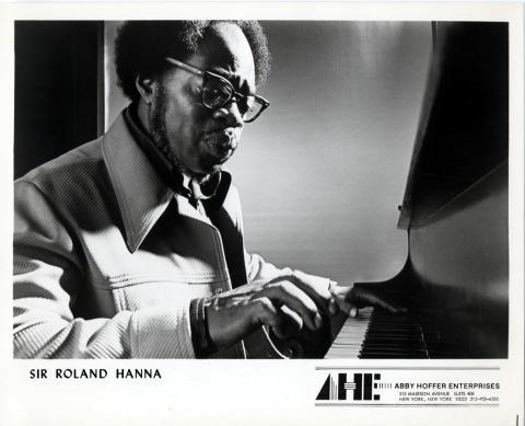 Roland Hanna Promo Print
