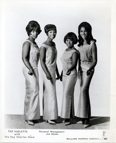 The Raelettes Promo Print
