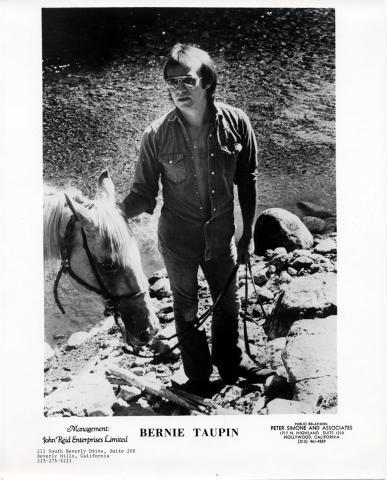 Bernie Taupin Promo Print