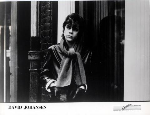 David Johansen Promo Print