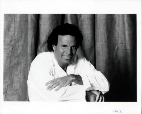 Julio Iglesias Promo Print