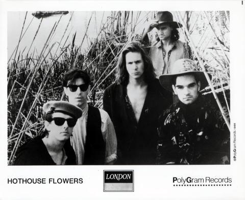 Hothouse Flowers Promo Print