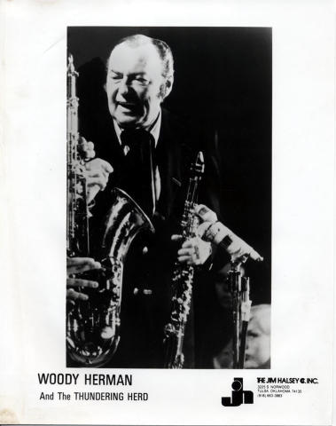 Woody Herman & The Young Thundering Herd Promo Print