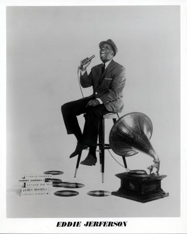 Eddie Jefferson Promo Print