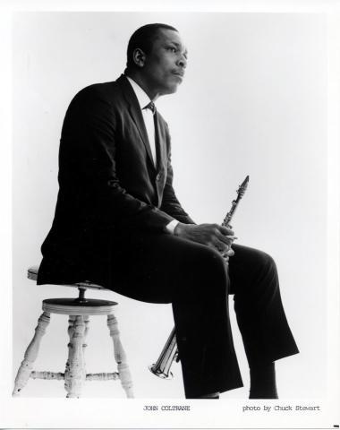 John Coltrane Promo Print