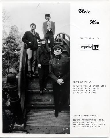 Mojo Men Promo Print