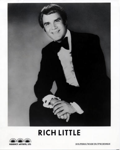 Rich Little Promo Print