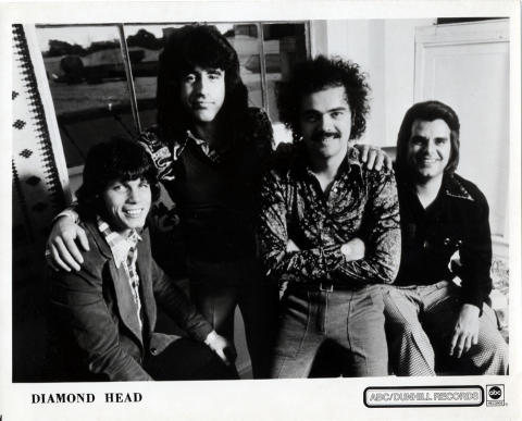 Diamond Head Promo Print