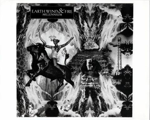 Earth, Wind & Fire Promo Print