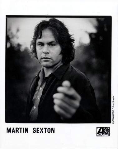 Martin Sexton Promo Print