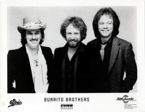 Burrito Brothers Promo Print