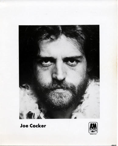 Joe Cocker Promo Print