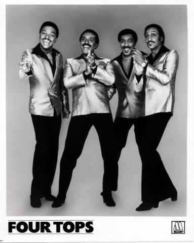 The Four Tops Promo Print