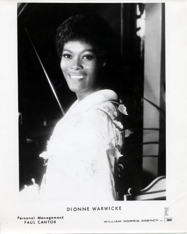 Dionne Warwick Promo Print