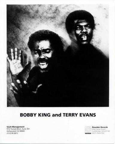 Bobby King Promo Print
