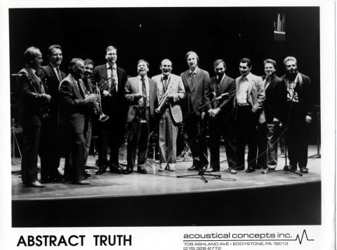 Abstract Truth Promo Print