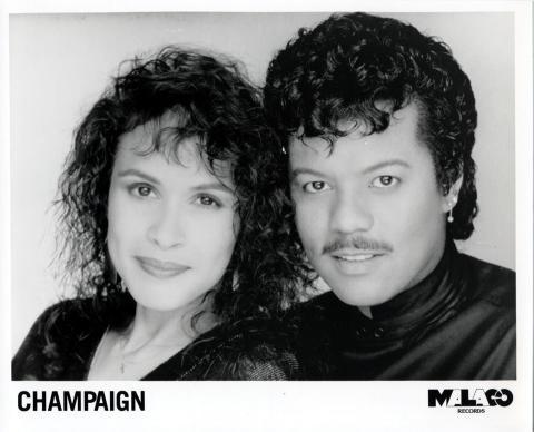 Champaign Promo Print