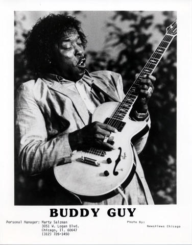 Buddy Guy Promo Print