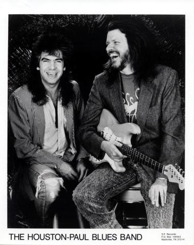 The Houston-Paul Blues Band Promo Print