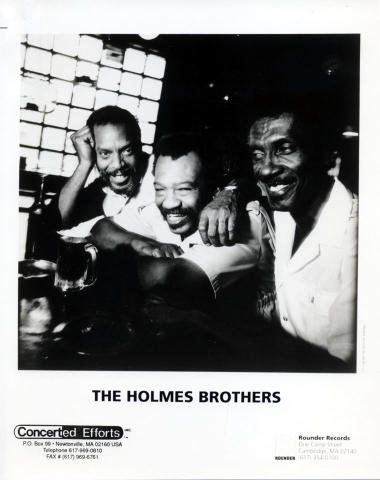 The Holmes Brothers Promo Print