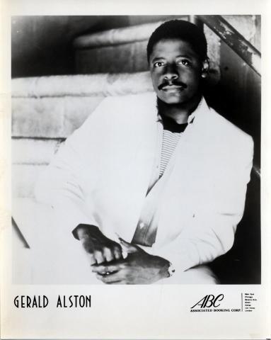 Gerald Alston Promo Print