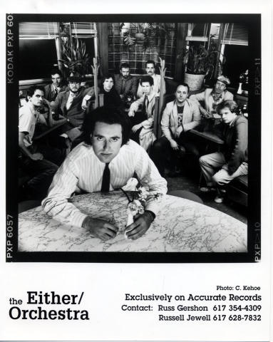 The Either Orchestra Promo Print