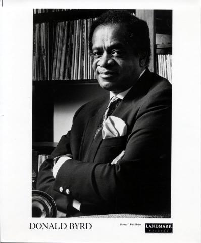 Donald Byrd Promo Print