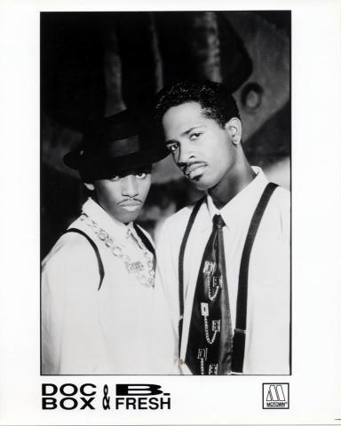 Doc Box & B. Fresh Promo Print