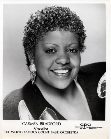 Carmen Bradford Promo Print
