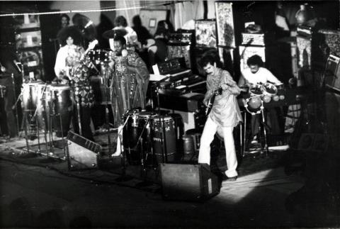 Santana Vintage Print